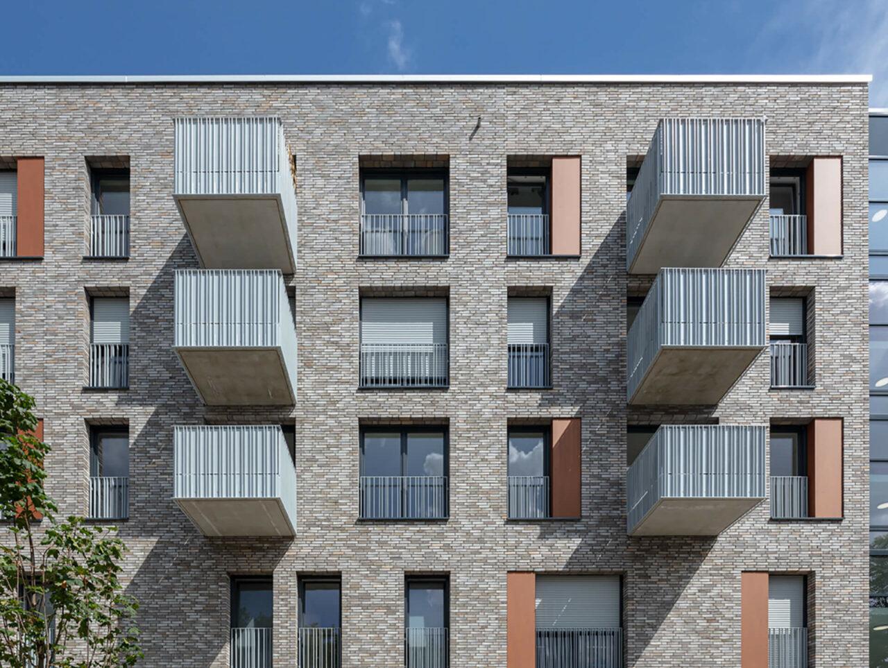 Cranachhoefe Essen Holsterhausen Neubauprojekt Balkon