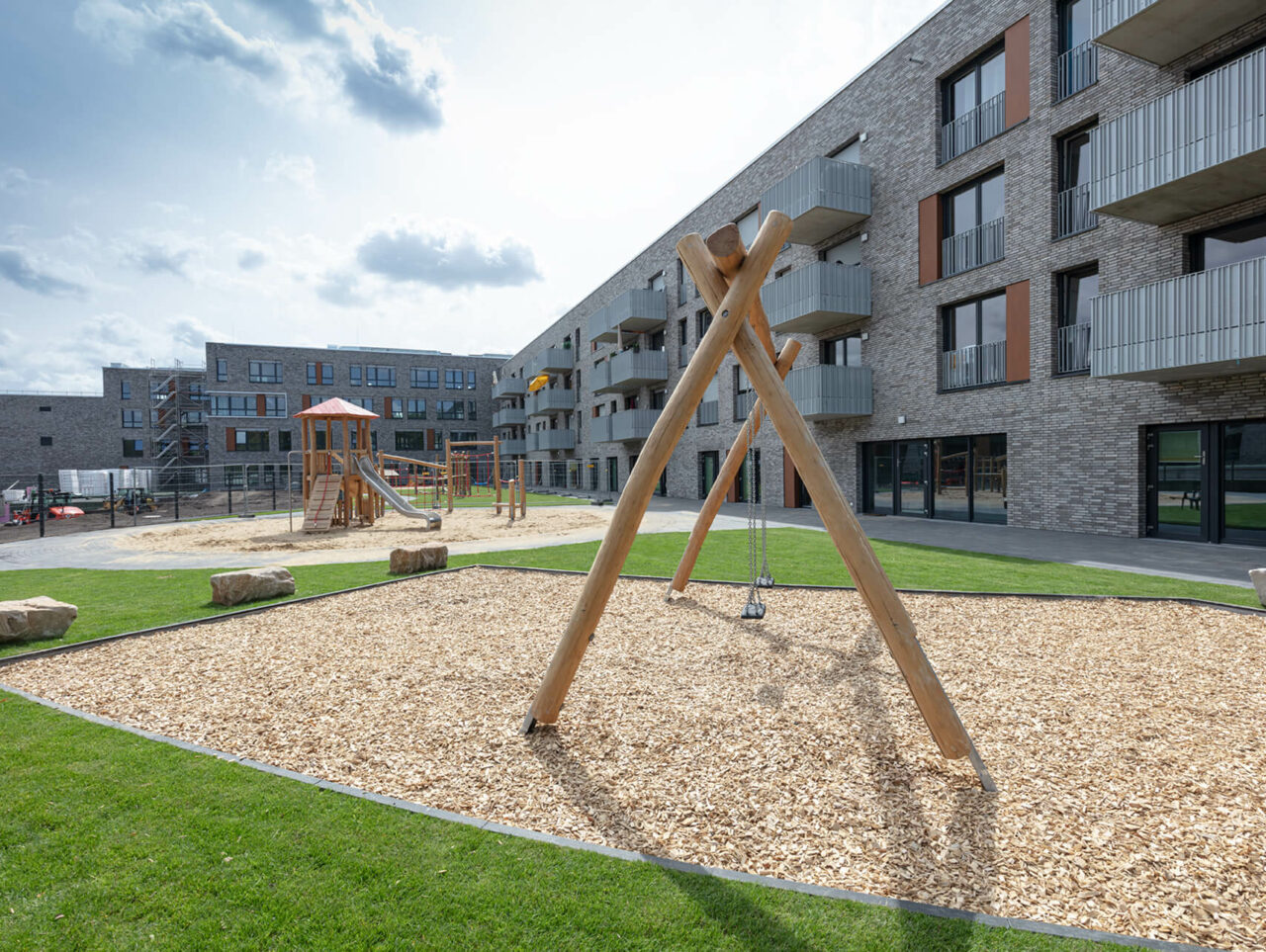 Cranachhoefe Essen Holsterhausen Neubauprojekte Spielplatz