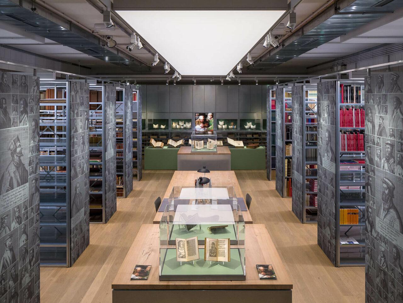 Draiflessen Mettingen Kunstmuseum C&A Bibliothek