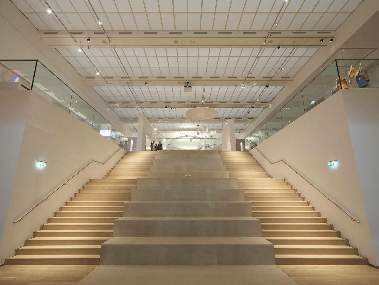 Draiflessen Mettingen Kunstmuseum C&A Treppenhaus