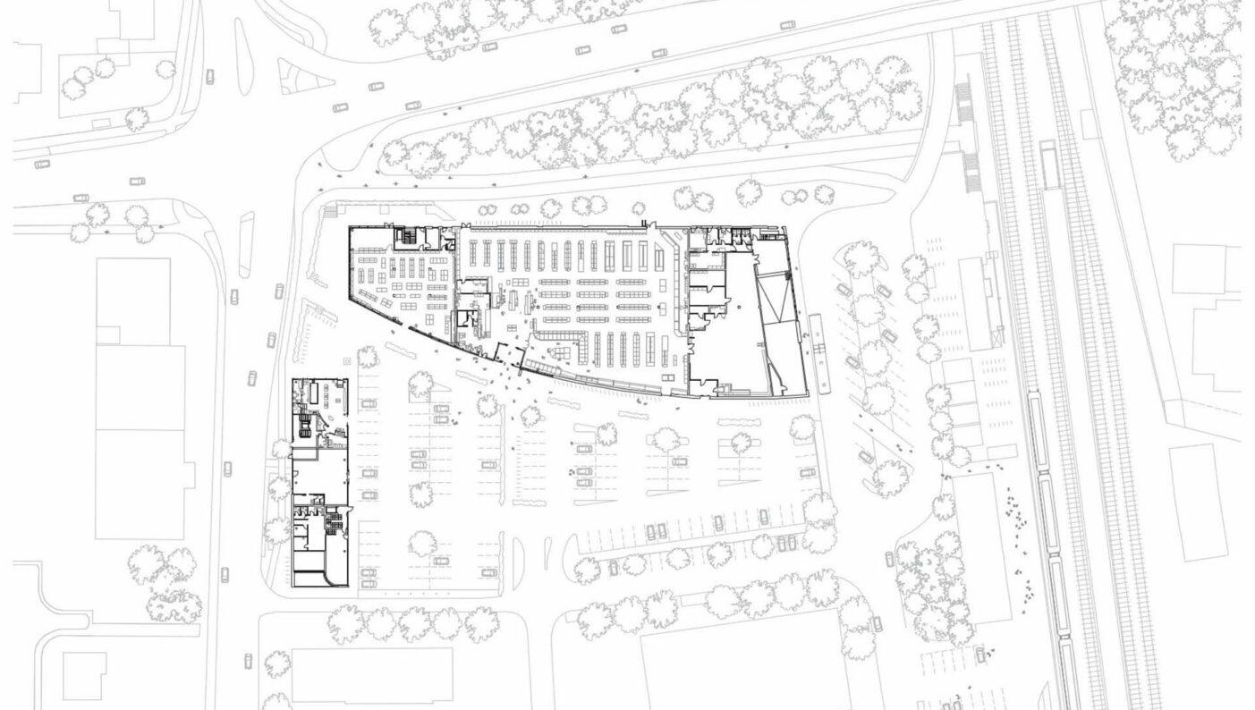 Zentrum Edeka Wohnen Münster Hiltrup Einzelhandel Lageplan
