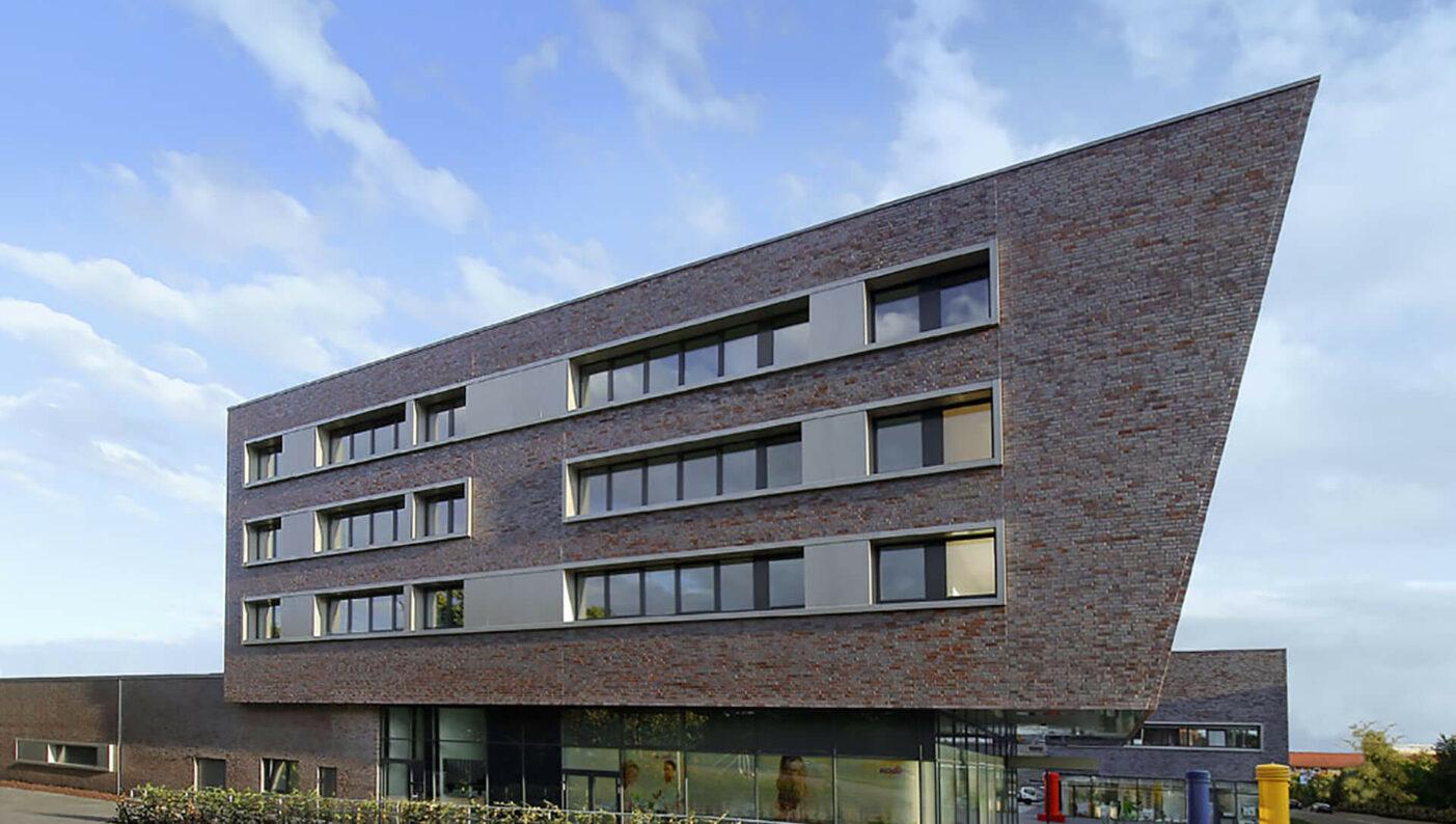 Zentrum Edeka Wohnen Münster Hiltrup Einzelhandel Seitenansicht