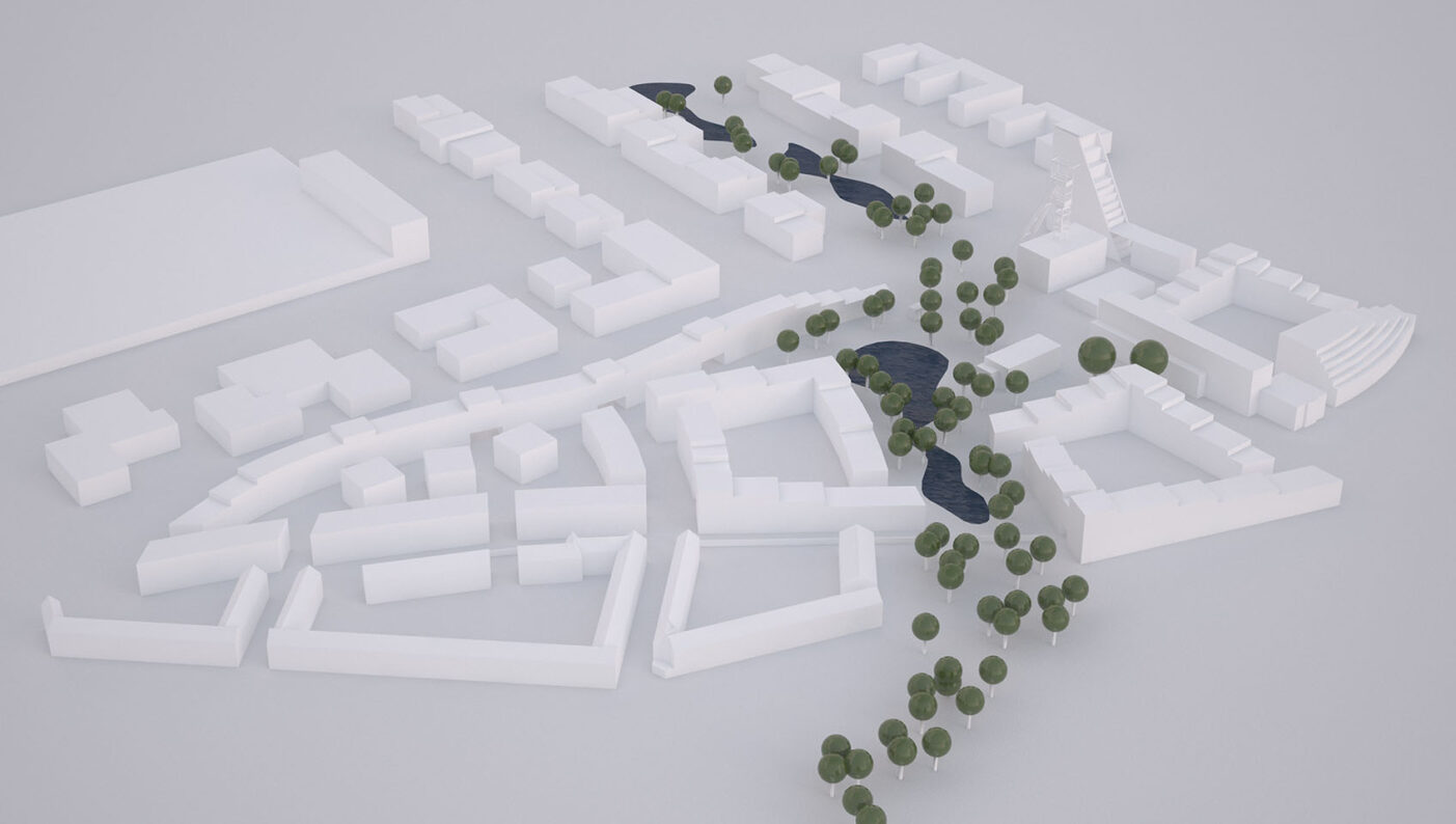 Essen51 4ter Preis Modulares Band Visualisierung weiss