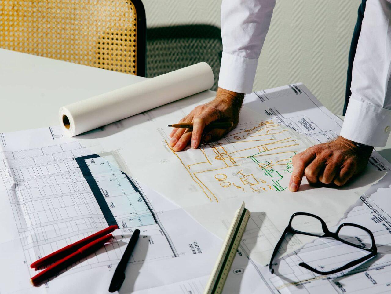Nattler Planung Zeichnung