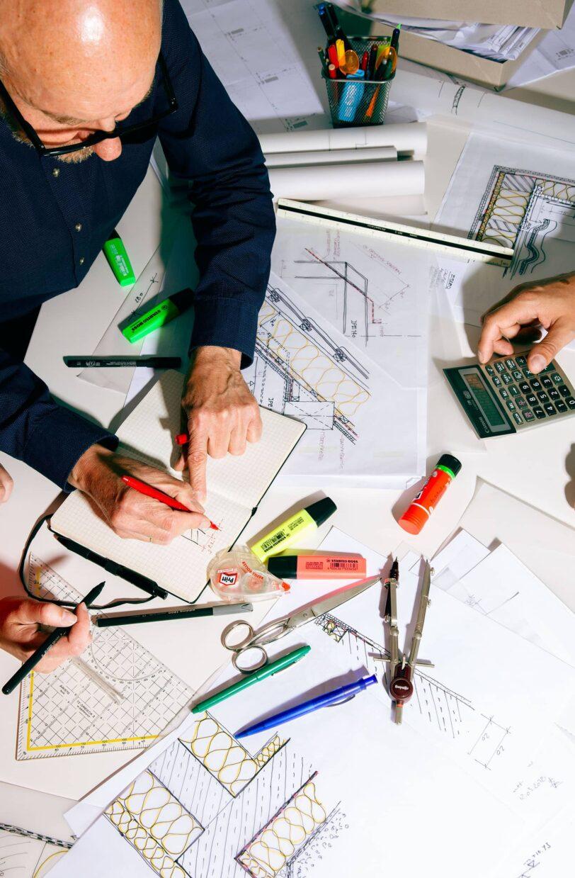 Team Nattler Planung Zeichnung