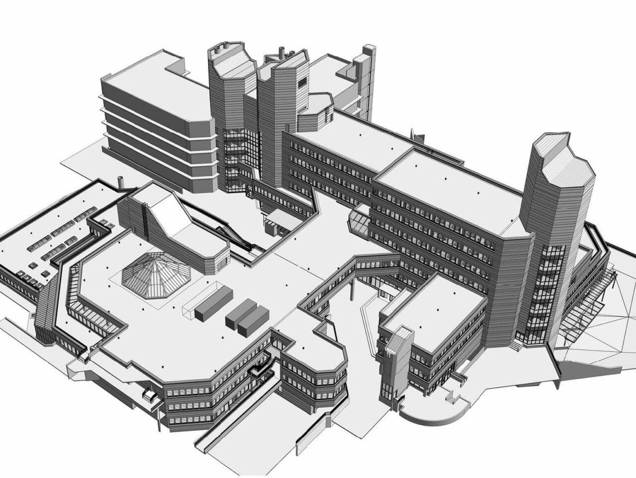 Universität Siegen Modernisierung Sanierung bim