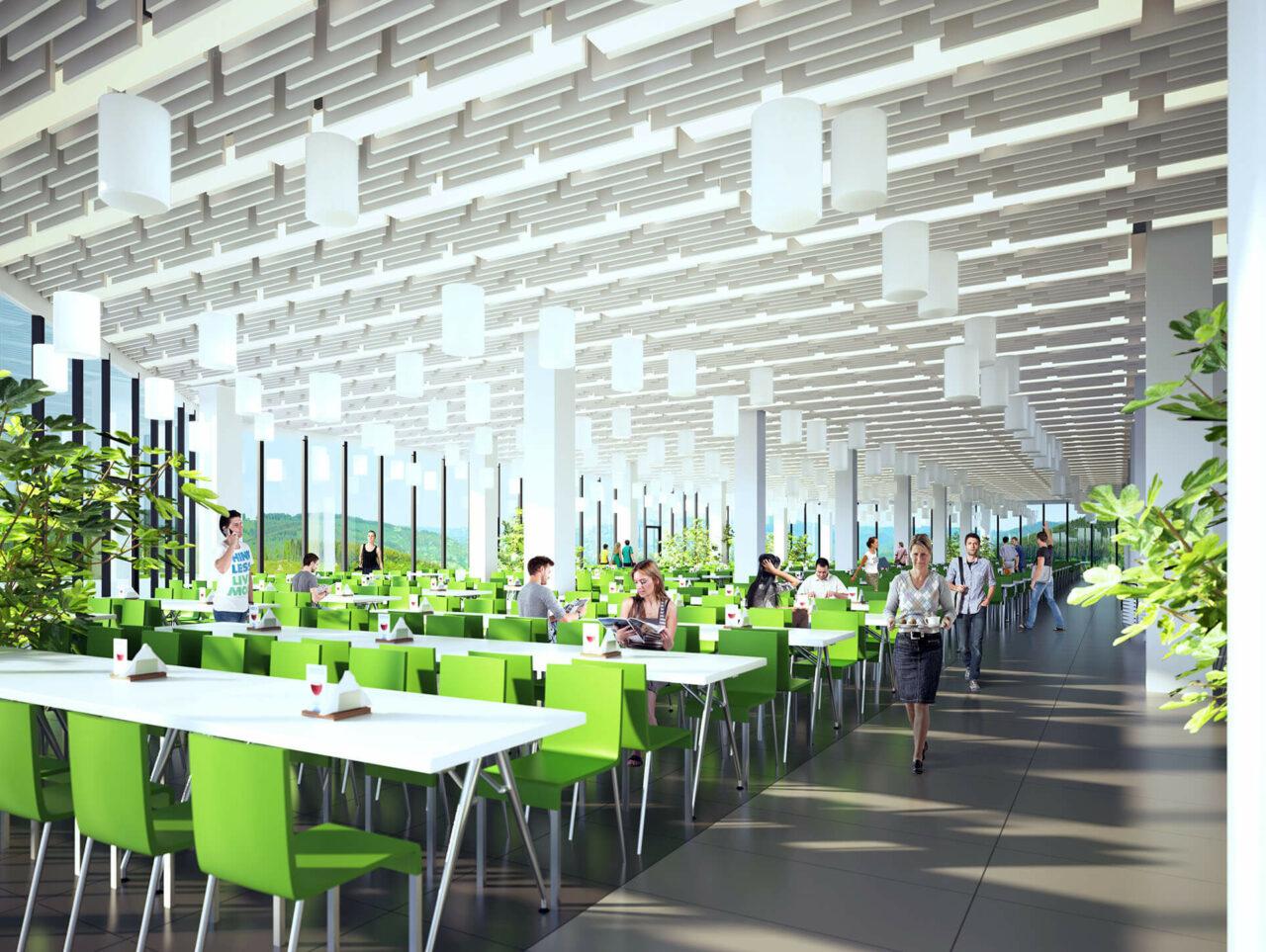Universität Siegen Modernisierung Sanierung Cafeteria