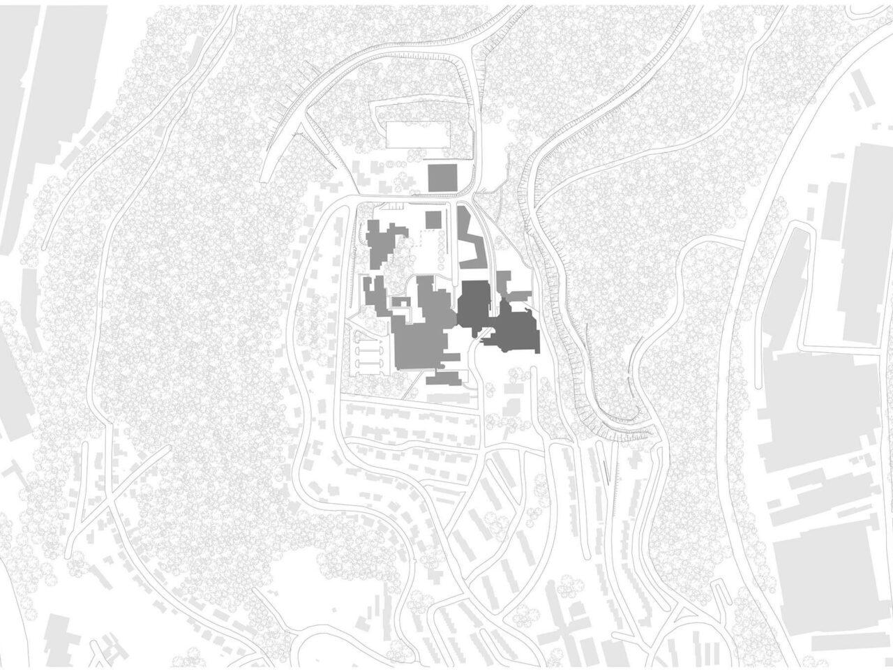 Universität Siegen Modernisierung Sanierung Lageplan