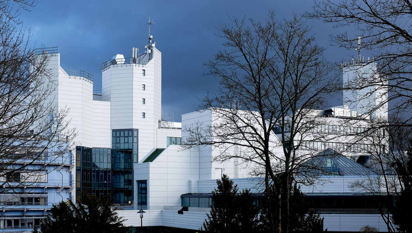 Universität Siegen Modernisierung Sanierung Seitenansicht