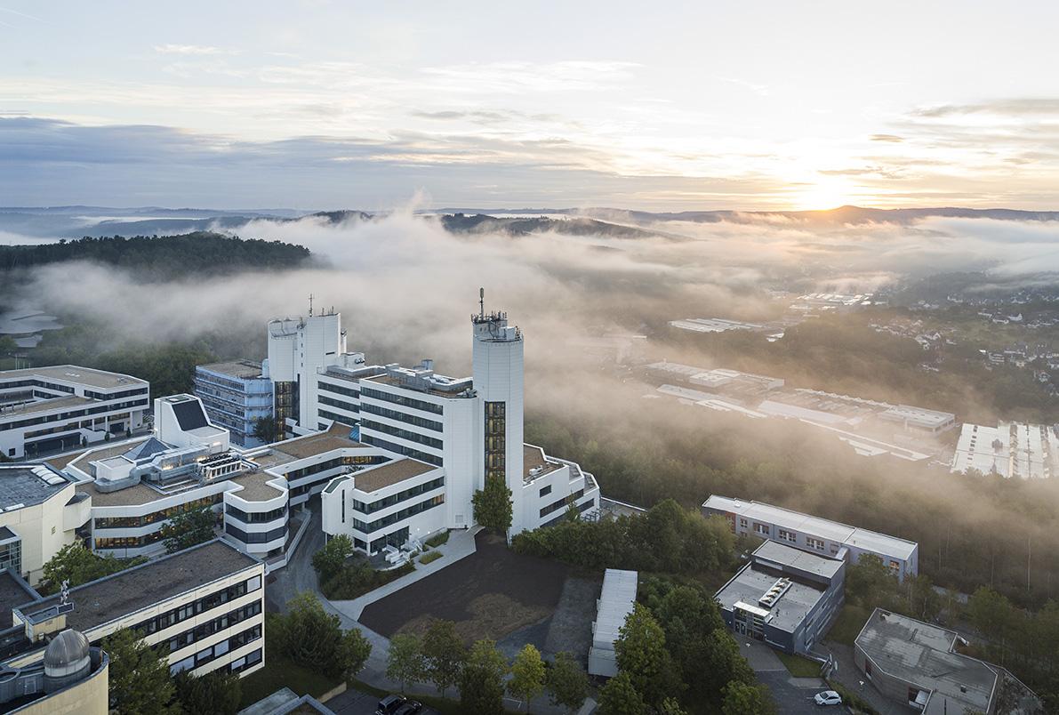 Universität Siegen Birdview